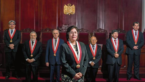 TC declara improcedente demanda contra vacancia presidencial por incapacidad moral
