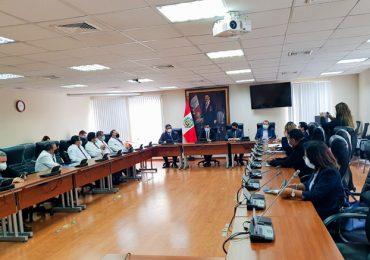 SINAMSSOP participa de reunión del Congreso por Derogatoria del DU 014 y afirmación de la Ley 31039 en TC