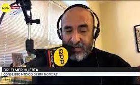 Doctor Elmer Huerta pide salida de Molinelli de EsSalud