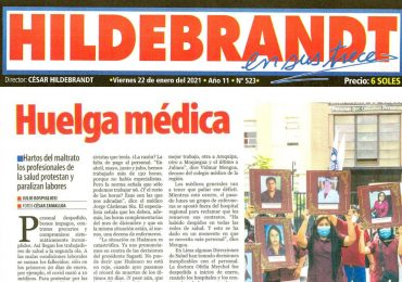 HILDEBRANDT en sus trece: Huelga Médica