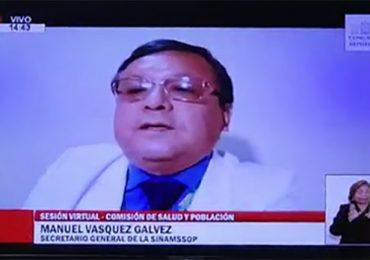 Primer subsecretario general Manuel Vásquez exigió salida de Fiorella Molinelli