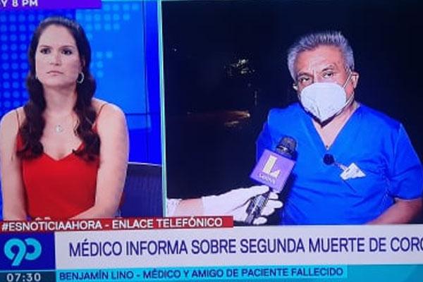 Presidente de cuerpo médico del Carlos Alcántara presentó denuncia preventiva penal contra director César Petrovich por abandono del hospital