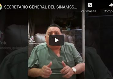 Secretario general del SINAMSSOP exige prisión para responsables de Vacunagate