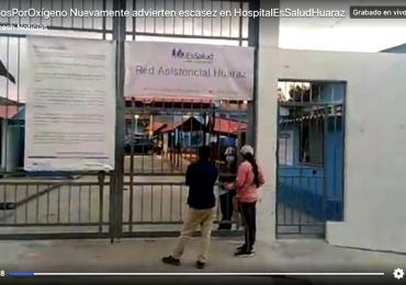 Caos en Huaraz: No hay oxígeno en EsSalud