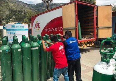 50 balones enviados por presidenta de EsSalud a Huaraz sirven para un día, CEABE retiene adquisición de la planta de oxígeno hace un mes