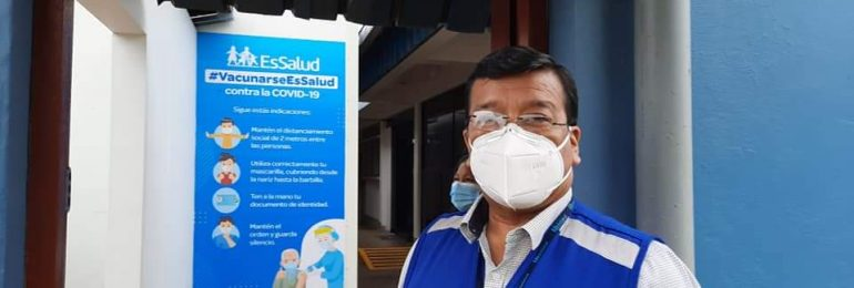 MÁS VACUNAGATE EN ESSALUD. Director de la red asistencial de Madre de Dios se vacunó primero con sus funcionarios y dejó sin vacuna a los médicos
