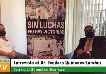 """Teodoro Quiñones: """"Derogatoria del DU 014 es un triunfo indiscutible de SINAMSSOP reconocido por las centrales sindicales"""""""