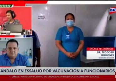 Teodoro Quiñones: Funcionarios de Molinelli están desprestigiados por sus actos