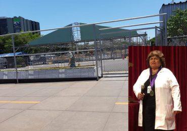 ESCÁNDALO. Sin ningún sustento sanitario ni técnico presidenta ejecutiva impone hospital blanco Covid en cochera del Edgardo Rebagliati