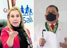 Fiorella Molinelli concreta venganza contra Teodoro Quiñones y pide supensión de un año sin goce de haber por supuesta falta disciplinaria