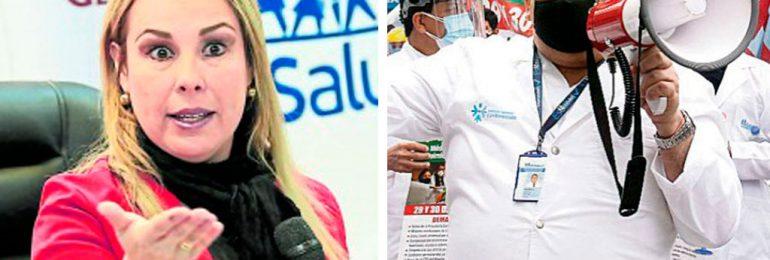 ESSALUD suspendió doce meses sin goce de haber a secretario general del SINAMSSOP Teodoro Quiñones por defender la vida de médicos y pacientes