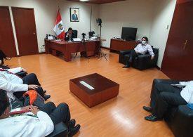 Secretario General se reúne con Presidente de la Comisión de Salud del Congreso de la República