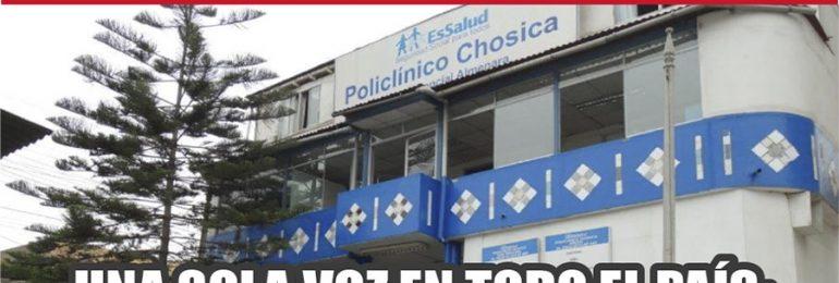 Plantones Nacionales de Protesta en EsSalud: Chosica 10 de mayo de 2021 Policlínico Chosica