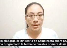 SINAMSSOP exige vacunación urgente de internos de medicina