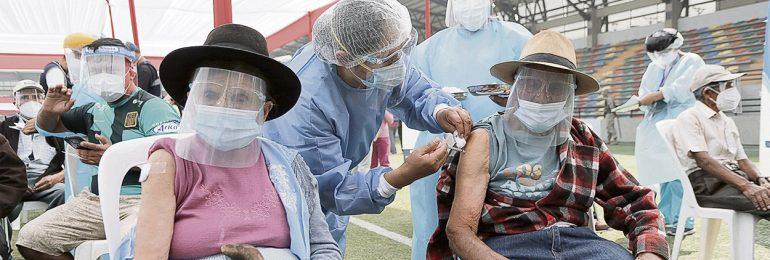 Coronavirus en Perú: decesos de adultos mayores de 80 años se reduce en 45%