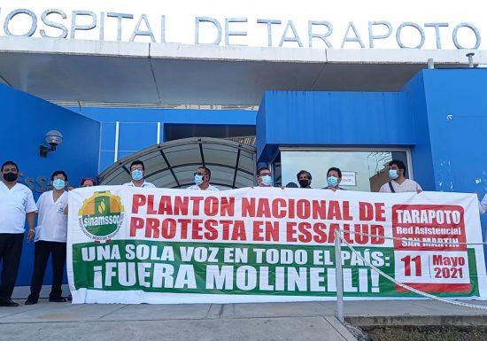 Cuerpos médicos del Marino Molina y Tarapoto denunciaron abandono de sus hospitales y condenaron bailes de Tik Tok de Fiorella Molinelli