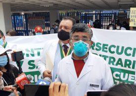 SERVIR declaró nula suspensión de tres meses sin goce de haber de presidente del Cuerpo Médico de Huancayo Walter Calderón