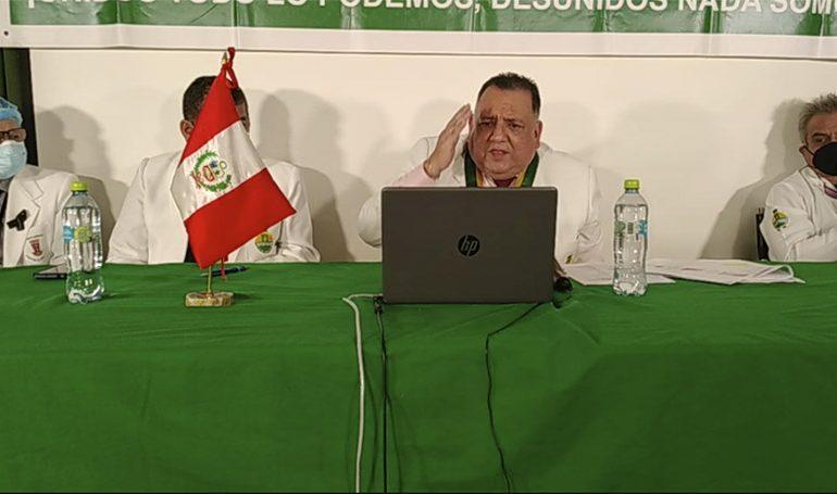 Secretario general Teodoro Quiñones sustentó denuncias sobre irregularidades en EsSalud ante Comisión investigadora