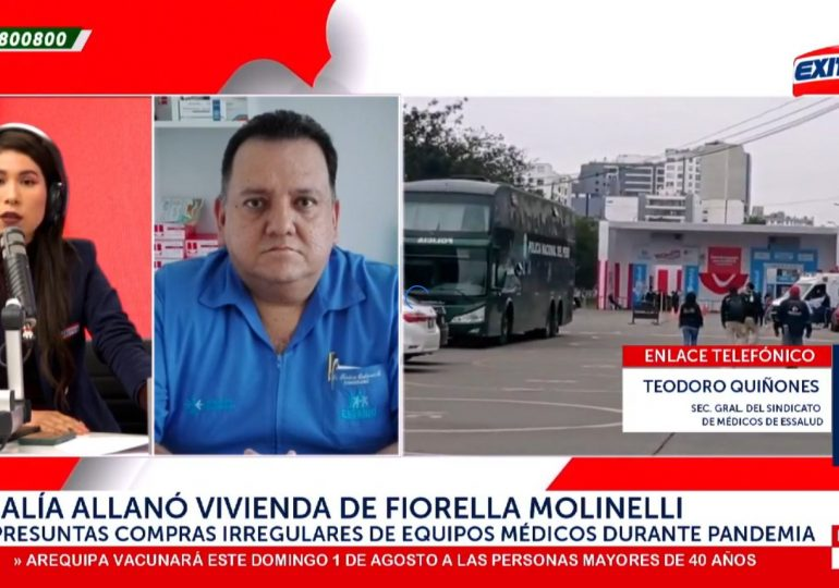 """'El Club de las Farmacéuticas': Afirman que Fiorella Molinelli fue """"operadora política"""" de Martín Vizcarra"""