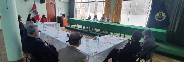 Secretario general del SINAMSSOP se comprometió a agilizar trámite de pago del fondo de jubilación