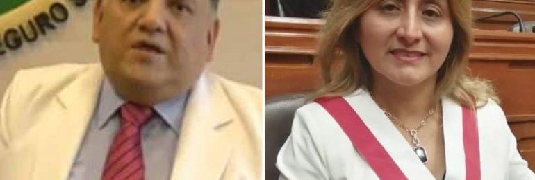 Teodoro Quiñones: congresista Tania Rodas debe definirse ¿representa a los médicos o defiende a Fiorella Molinelli?