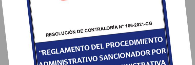 Contraloría publicó Reglamento del Procedimiento Administrativo por Responsabilidad Administrativa Funcional