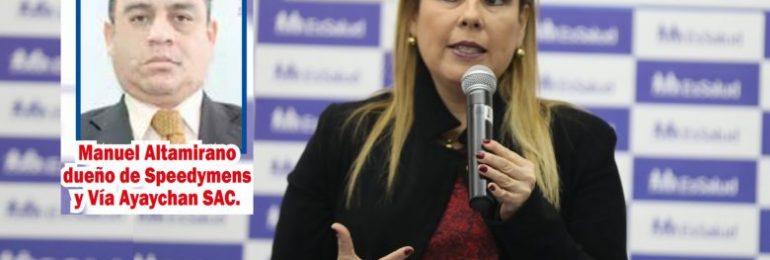 Sindicato médico de EsSalud pide destitución de Molinelli