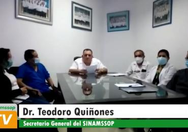 Secretario general y presidentes de cuerpos médicos de Piura exigen salida inmediata de gerente de la Red, José Avelino Céspedes Medrano y atención urgente de las malas condiciones de trabajo