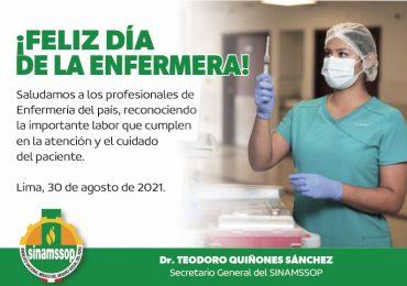 ¡Feliz Día de la Enfermera!