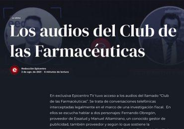 Los audios del Club de las Farmacéuticas