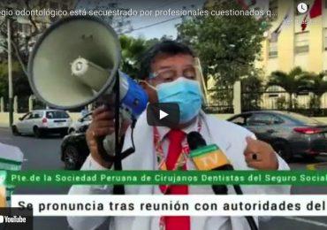 Colegio odontológico está secuestrado por profesionales cuestionados que manejan sus recursos como propios