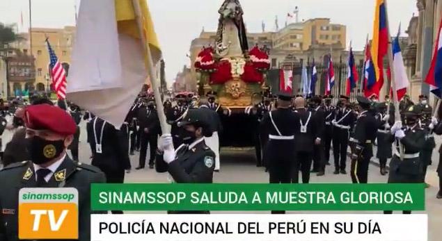 SINAMSSOP saluda a nuestra gloriosa Policía Nacional en su día