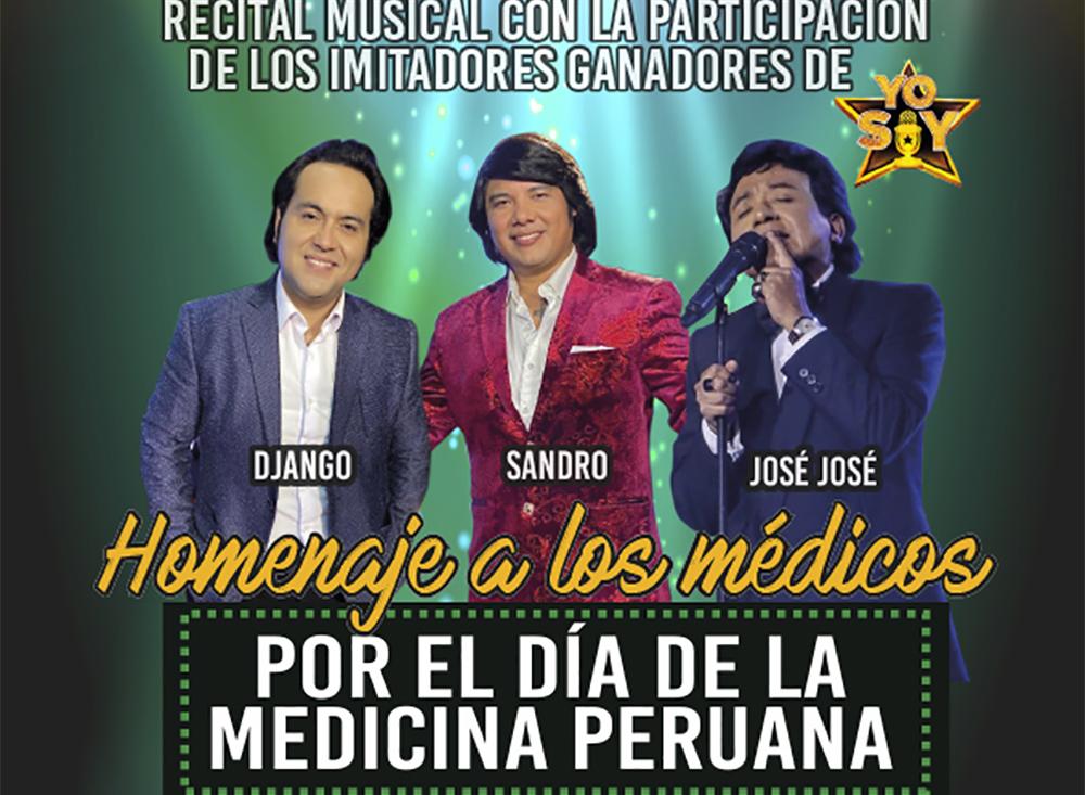 """Homenaje por el """"Día de la Medicina Peruana"""""""