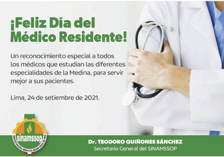 ¡Feliz Día del Médico Residente!