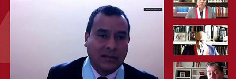 Abogado Jesús Carrasco a nombre del SINAMSSOP dio informe oral defendiendo constitucionalidad de Ley 31131 que elimina régimen CAS