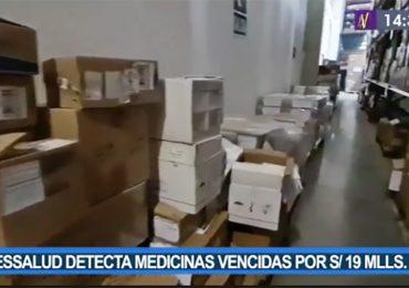 EsSalud detectó medicinas vencidas por un valor de más de 19 millones de soles