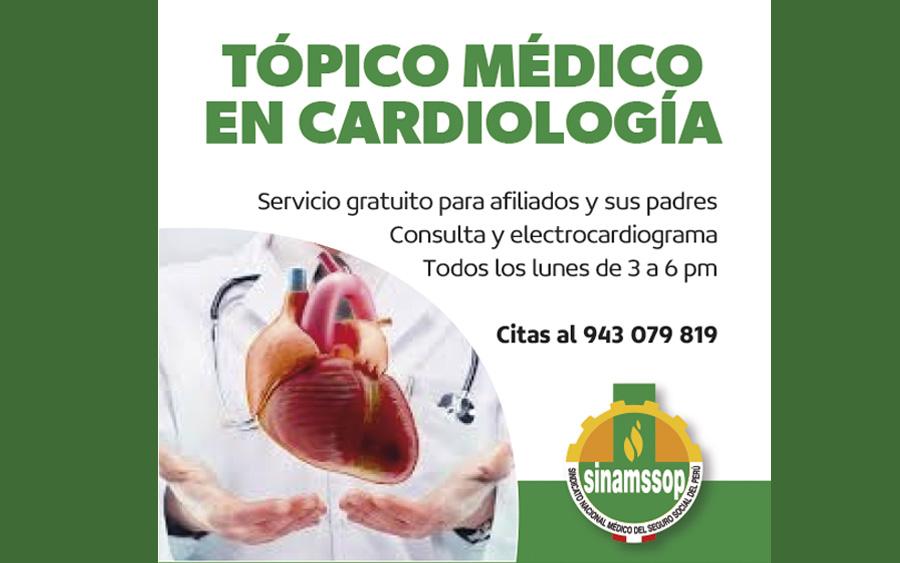 Topico médico en Cardiología