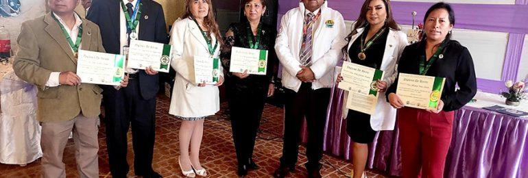Ethel Gonzáles Esparza juramentó ayer como nueva presidenta del cuerpo médico del Hospital II Cajamarca