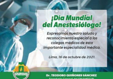 Día mundial del Anestesiólogo