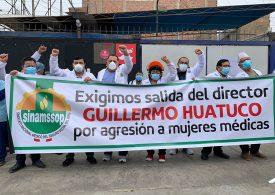 Médicos de EsSalud reclamaron salida de director agresor de mujeres Guillermo Huatuco en policlínico de Chorrillos