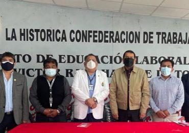 SINAMSSOP sostuvo reunión de coordinación general previa a su afiliación a la Confederación de Trabajadores del Perú