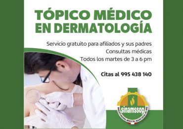 Tópico médico en Dermatología